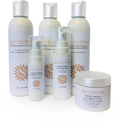 Skin to love clinic products