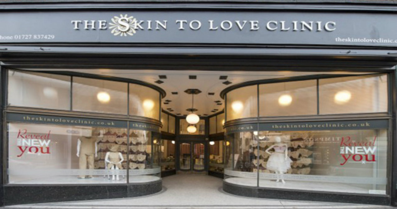 The Skin to Love Clinic exterior