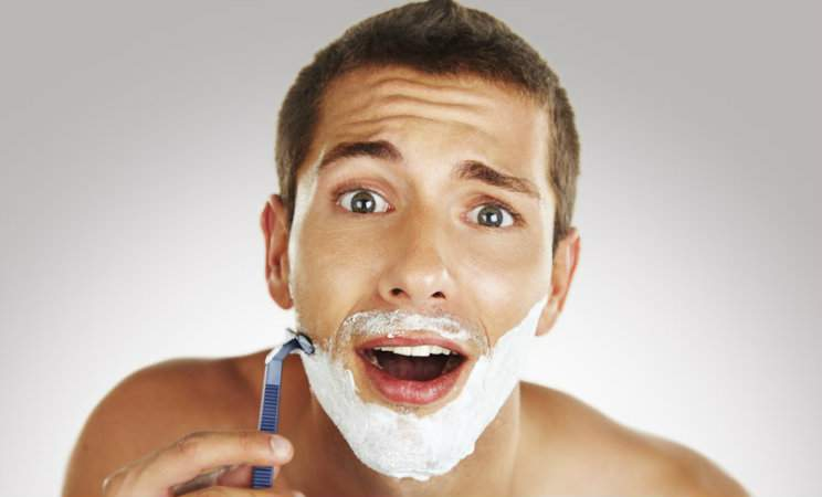 Men shaving bumps - Skin To Love
