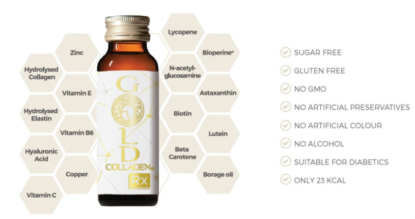 Gold Collagen Drink
