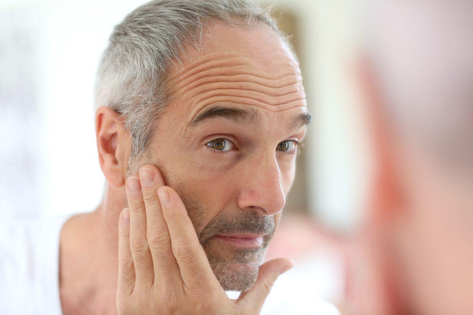 Skin treatments for men